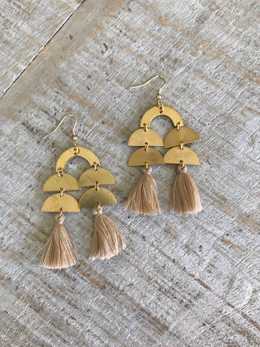 Waterfall Tassel Earrings