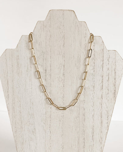 Paperclip Chain Necklace