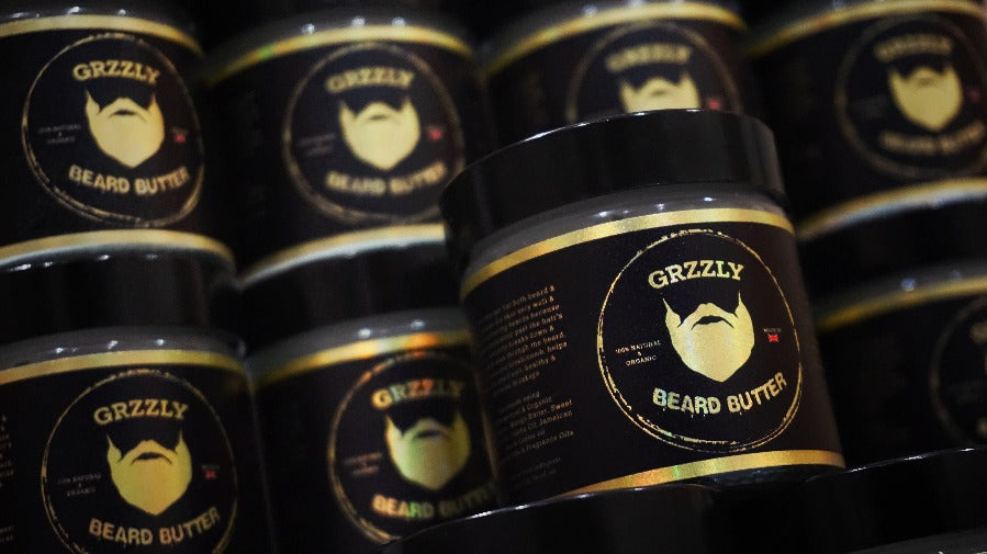grzzly handmade best beard butter