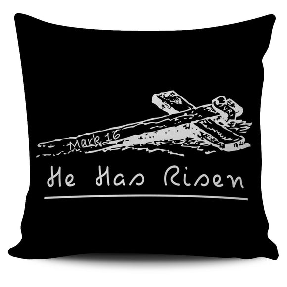 He Has Risen-Pillow Case-Elisway