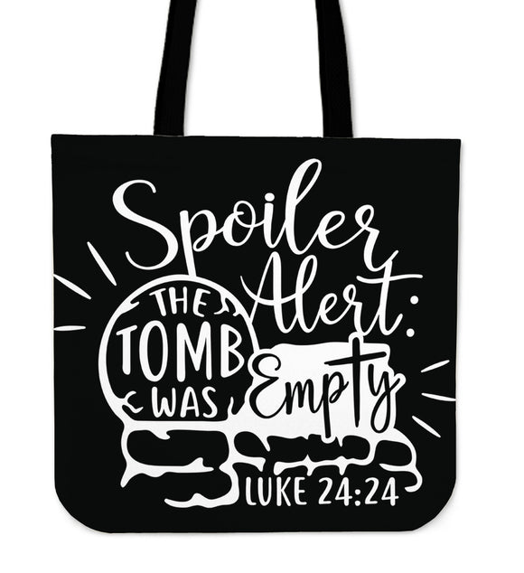 The Tomb Was Empty-Tote Bag - elisway