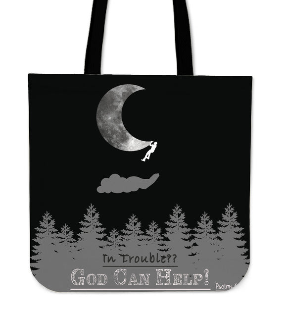 God Can Help- Tote Bag-Elisway