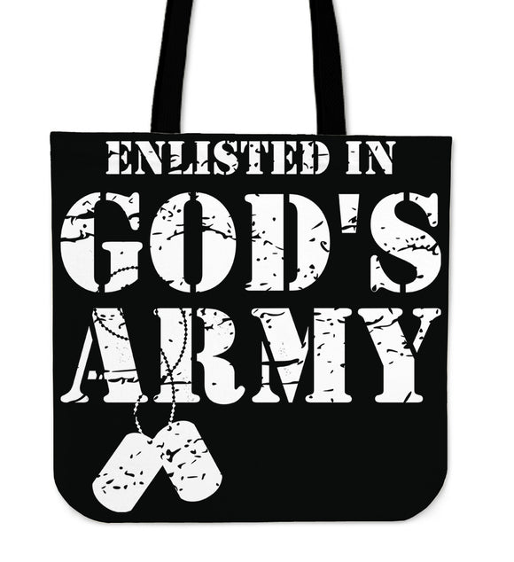 God's Army-Tote Bag-Elisway