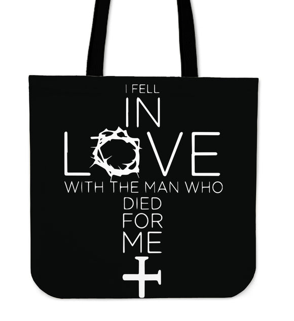 I Fell In Love-Tote Bag-Elisway