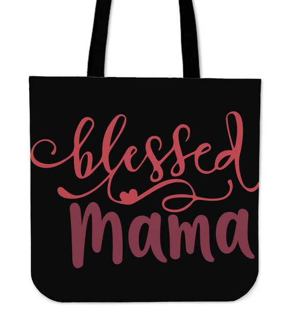 Blessed Mama-Tote Bag - elisway