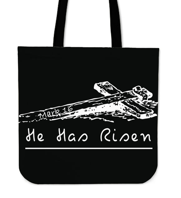 He Has Risen-Tote Bag-Elisway