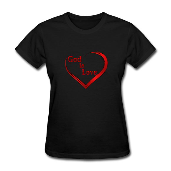 God Is Love-Women's T-Shirt - elisway