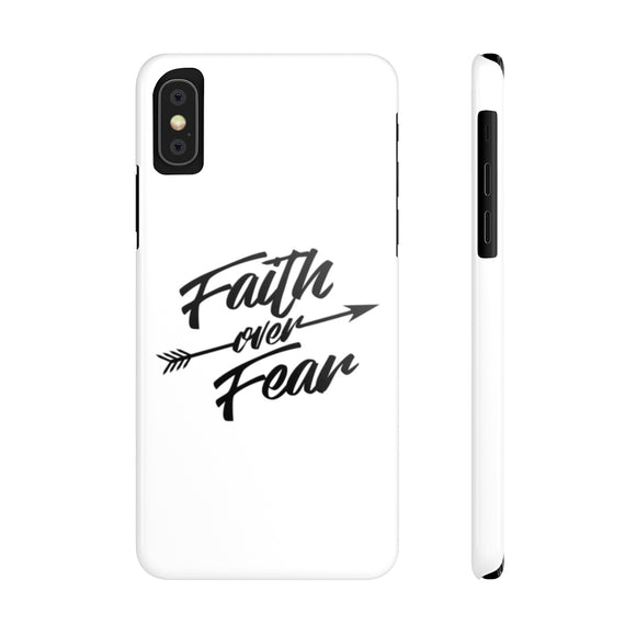 Faith Over Fear-Case Mate Slim Phone Cases - elisway