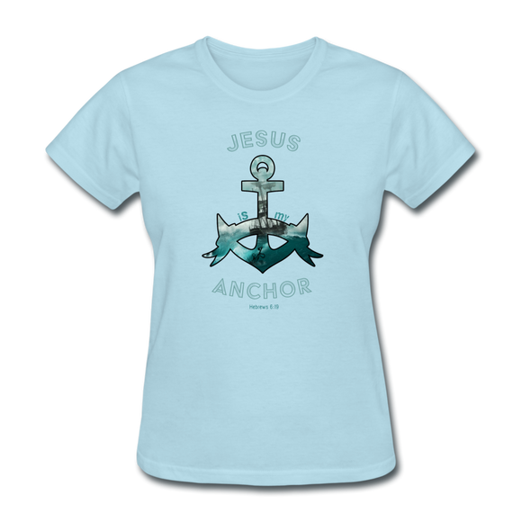 Jesus Is My Anchor-Women's T-Shirt-Women's T-Shirt-Elisway