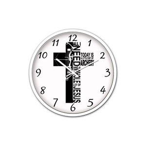 Jesus And Archery-Silent Wall Clock - elisway
