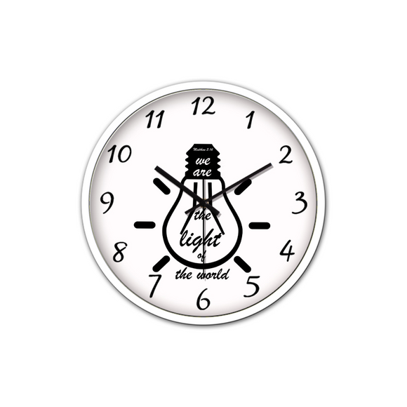 Light Of The World-Silent Wall Clock - elisway