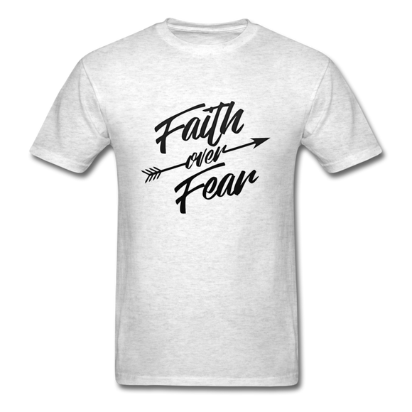 Faith Over Fear-Men's T-Shirt-Men's T-Shirt-Elisway