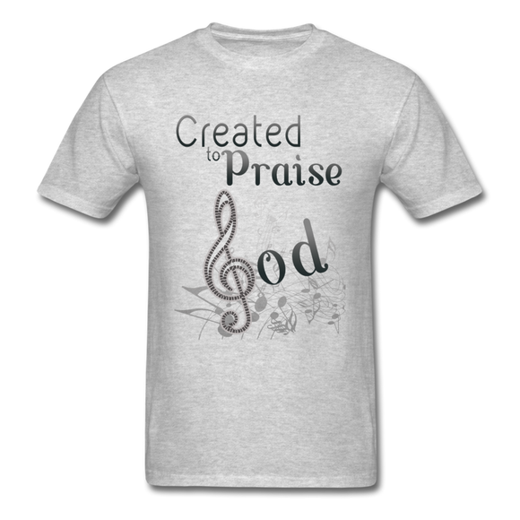 Created To Praise-Men's T-Shirt - elisway