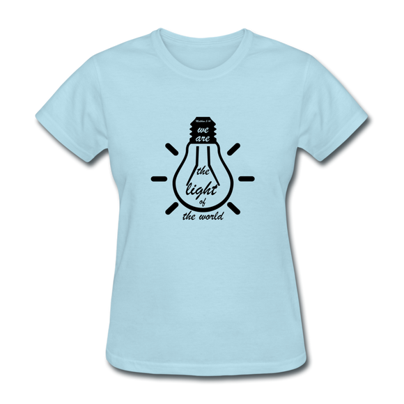 Light Of The World-Women's T-Shirt - elisway