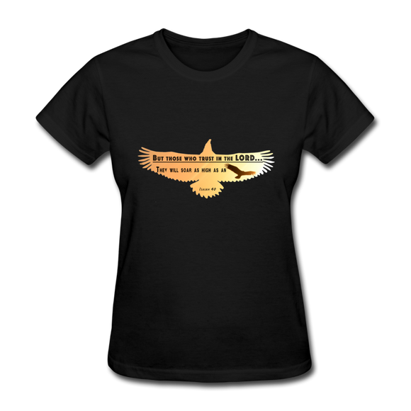 As High As An Eagle-Women's T-Shirt - elisway