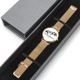 Faith Moves Mountains-Watch (Stainless Steel Strap) - elisway