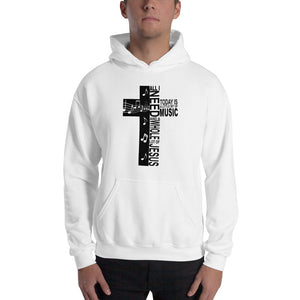 Jesus And Music-Hooded Sweatshirt - elisway