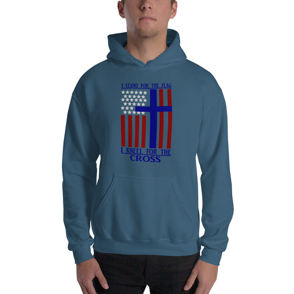I Kneel For The Cross-Hooded Sweatshirt - elisway