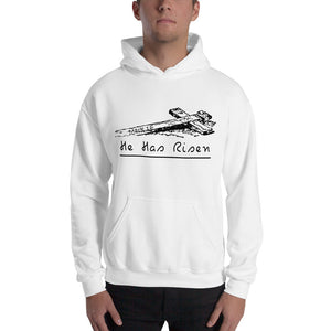 He Has Risen-Hooded Sweatshirt - elisway