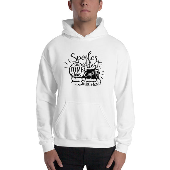 The Tomb Was Empty-Hooded Sweatshirt - elisway