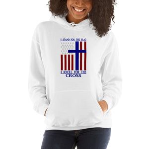 I Kneel for The Cross-Hooded Sweatshirt-Elisway