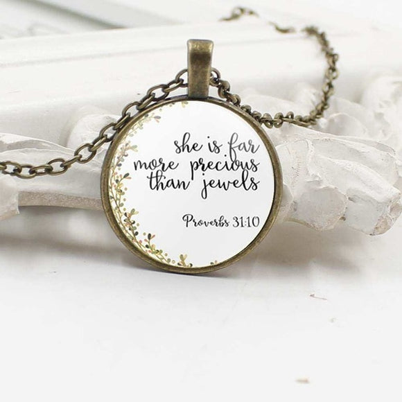 Proverbs 31 Woman -Necklace - elisway