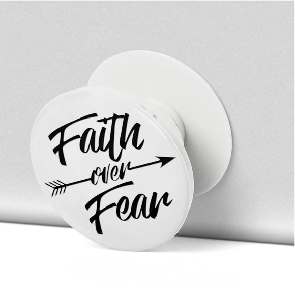 Faith Over Fear-Popsocket-Elisway
