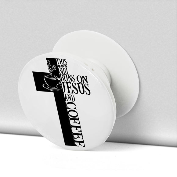 Jesus And Coffee-Popsocket - elisway