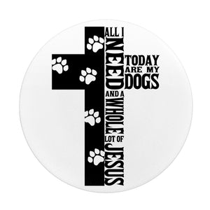 Jesus And Dogs-Popsocket - elisway