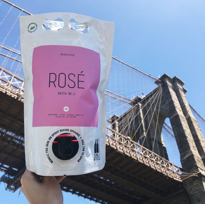 the ROSÉ has landed🌷