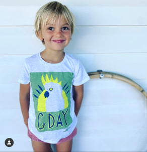 G-Day! Kids T-Shirt (Green)