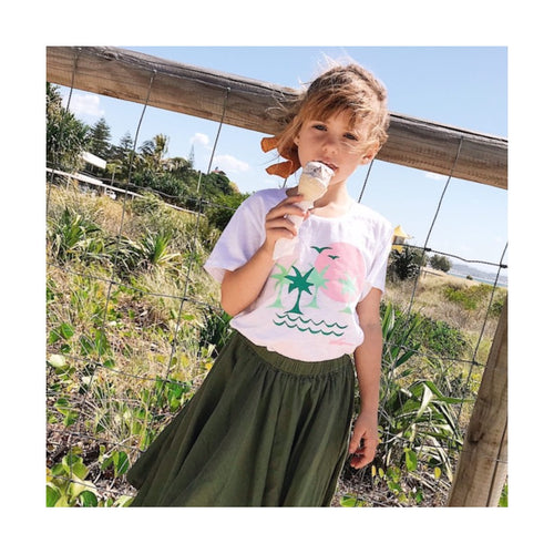 Pink Moon Kids T-Shirt