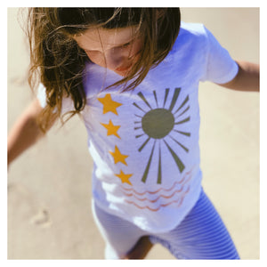 Pray for Surf II Kids T-Shirt