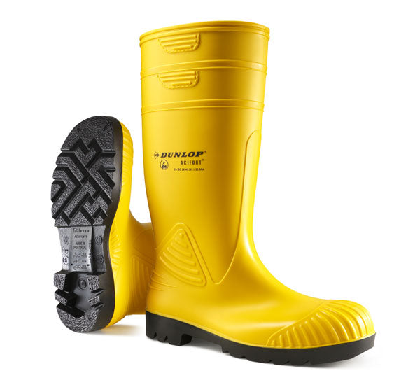 Dunlop Heavy Duty Safety Wellingtons