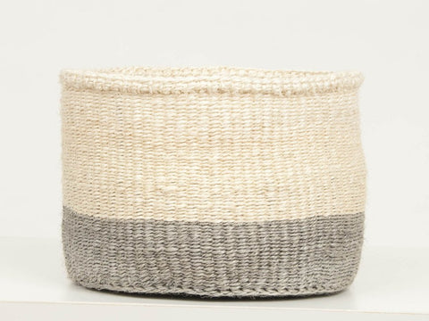 Itale Grey Colour Block Baskets
