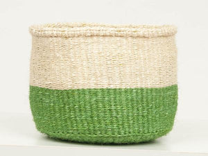 Mimea Green Colour Block Basket