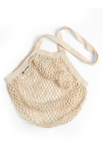 Turtle Bag Long Handled String Bag - Cream