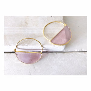Soft Pink Imogen Earrings