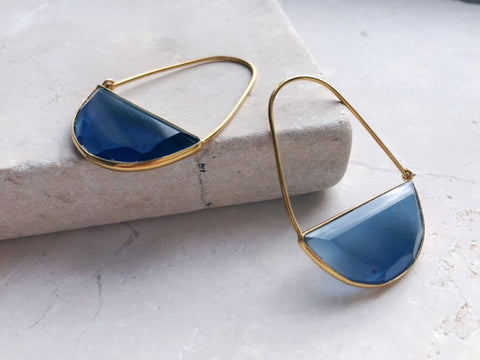 Blue Macke Earrings