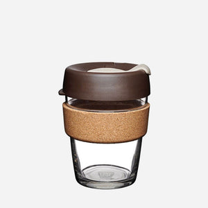 ALMOND Glass Reusable Keep Cup