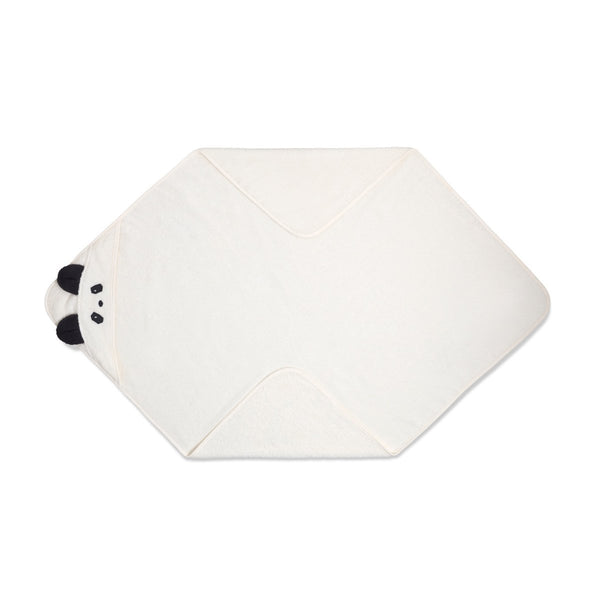 Augusta Hooded Towel - Panda Cream