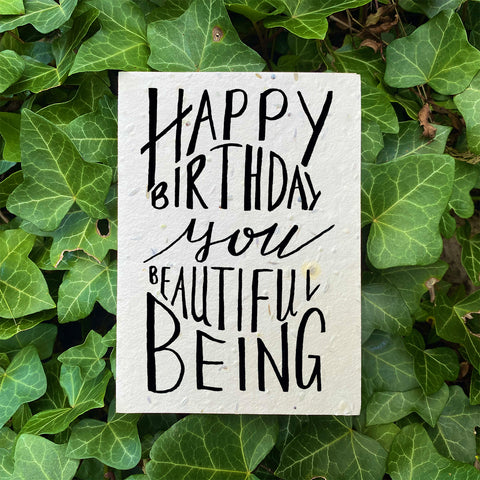 Plantable Flower Card - Happy Birthday