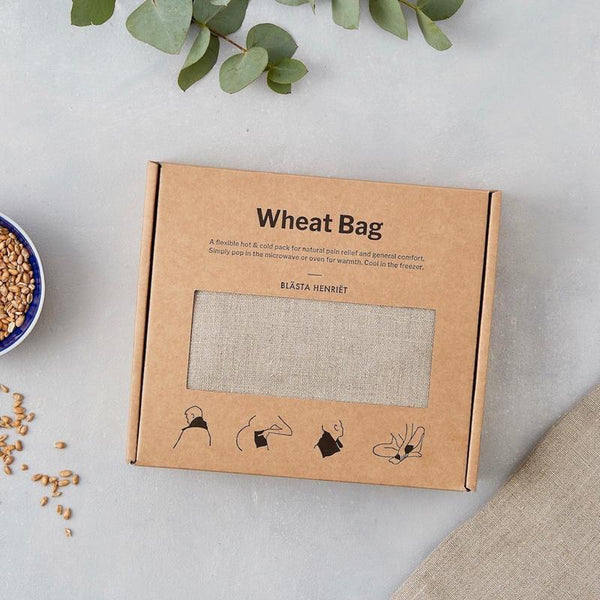 Wheat Bag Linen Natural
