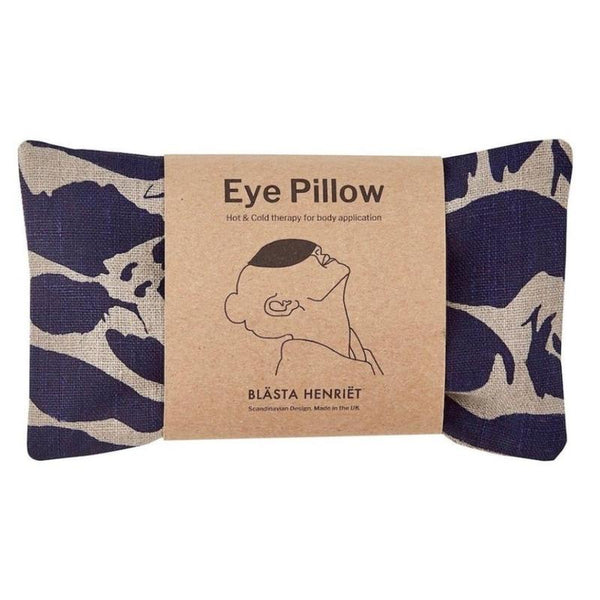 Eye Pillow Linen Navy