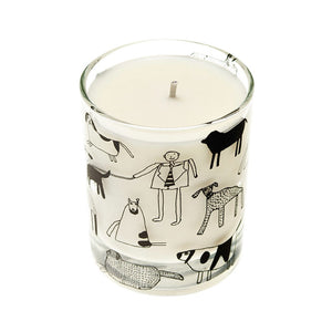 Dogs Scented Candle - Rhubarb & Ginger