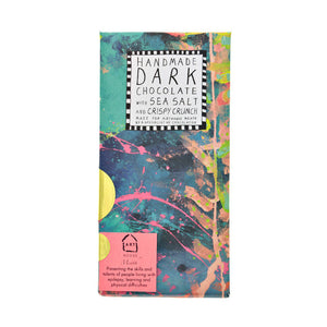 Underwater Handmade Dark Chocolate with Sea Salt & Crispy Crunch
