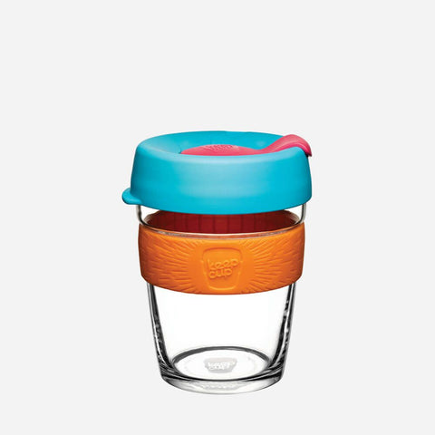 CLOUDBURST Glass Reusable Keep Cup