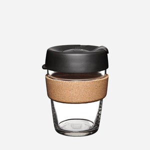 ESPRESSO Glass Reusable Keep Cup