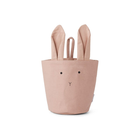 Fabric Basket - Rabbit Rose
