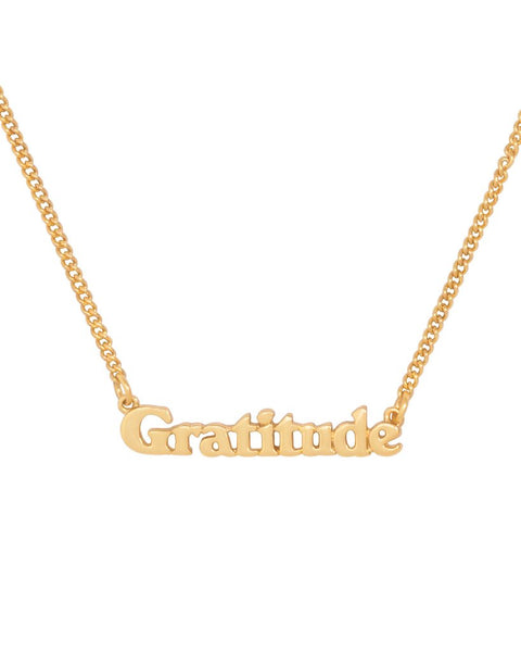 Gratitude Necklace